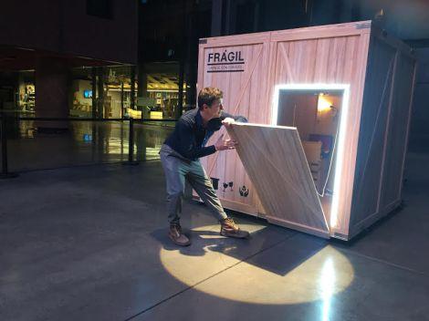 la caja de Nacho Diago